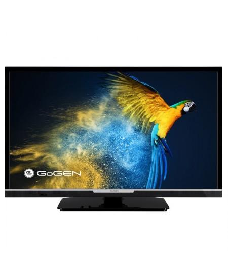 "GoGen LED Smart TV GOGTVH24R552STWEB 24"" (60 cm), Smart TV, HD Ready, 1366 × 768, Wi-Fi, DVB-C/S2/T/T2, Black"