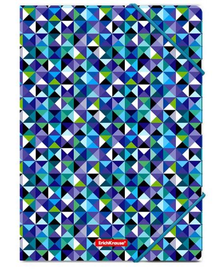 Aplankas su gumele ERICH KRAUSE Cubes, A4