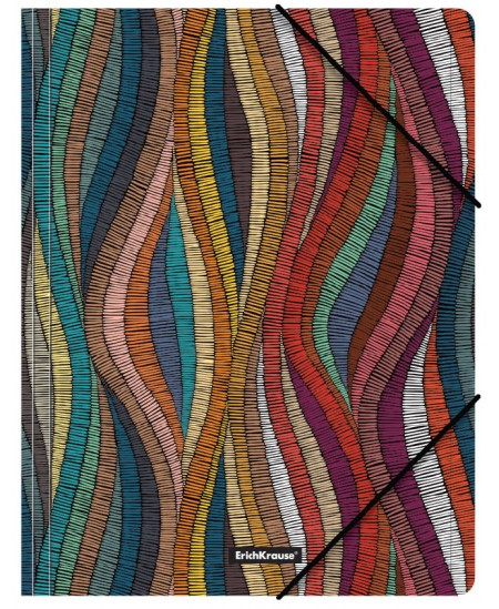 Aplankas su gumele ERICH KRAUSE Mosaic, A4