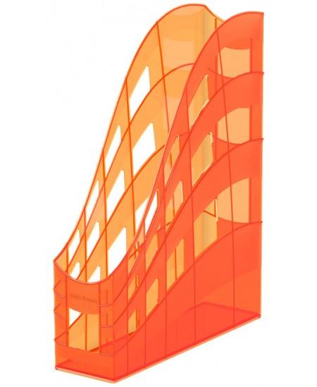 Dokumentų stovas ERICH KRAUSE S-Wing, Standard, 75 mm, oranžinės spalvos