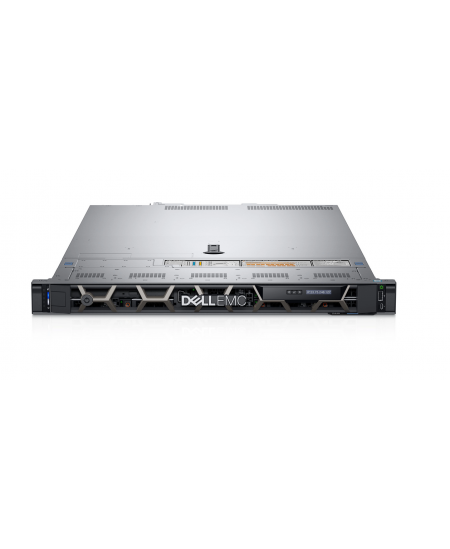 Dell PowerEdge R440 Rack (1U), Intel Xeon, 1x Silver 4214, 2.2 GHz, 16.5 MB, 24T, 12C, RDIMM, 2666 MHz, No RAM, No HDD, Up to 4