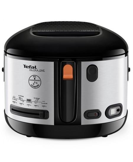 TEFAL Fryer Filtra One FF175D Power 1900 W, Capacity 2.1 L, Black/Stainless steel