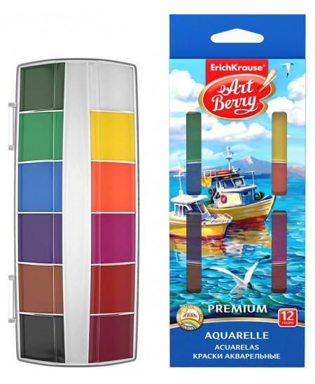 Akvarelė ERICH KRAUSE ArtBerry Premium, 12 spalvų