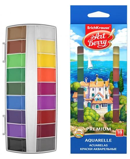 Akvarelė ERICH KRAUSE ArtBerry Premium, 18 spalvų