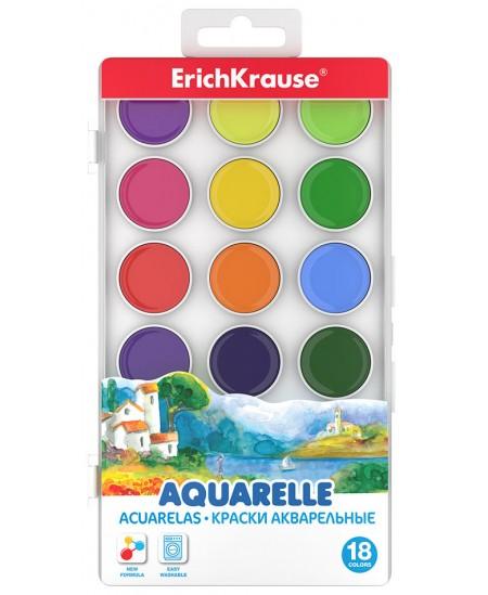 Akvarelė ERICH KRAUSE, 18 spalvų