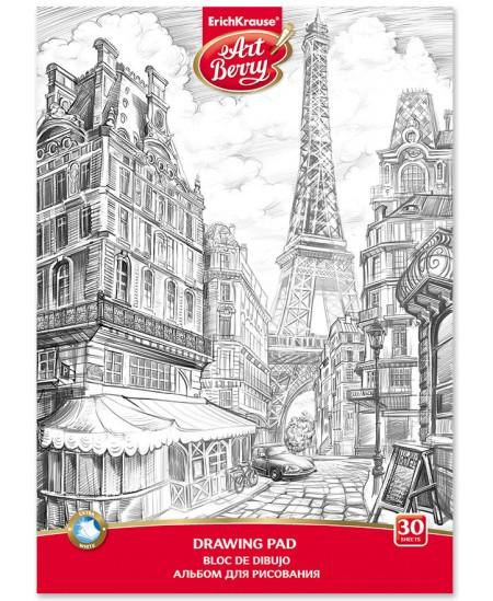 Piešimo sąsiuvinis ERICH KRAUSE ArtBerry Paris, А4, 30 lapų