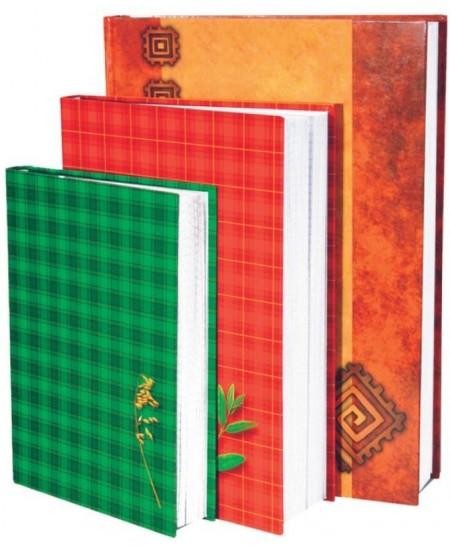 Kontorinis sąsiuvinis KRESKA, A4, 200 lapų, langeliais, kietas viršelis