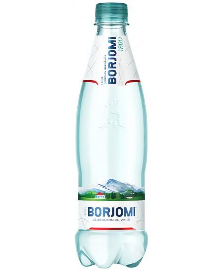 Natūralus gazuotas mineralinis vanduo BORJOMI 0.5 l, PET D