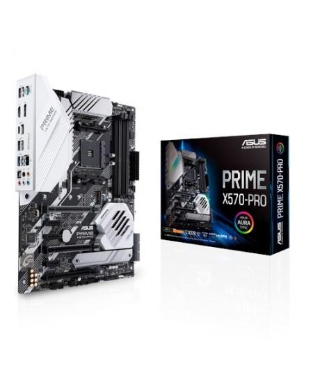 Asus PRIME X570-PRO Processor family AMD, Processor socket AM4, DDR4, Memory slots 4, Number of SATA connectors 6, Chipset AMD X