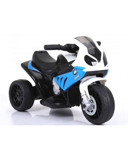 Triratis vaikiškas mėlynas motociklas BMW S1000R/ JT5188