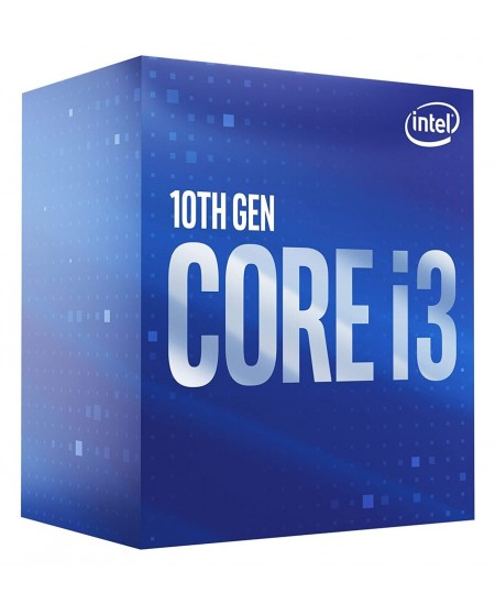 Intel i3-10100F, 3.6 GHz, LGA1200, Processor threads 8, Packing Retail, Processor cores 4, Component for Desktop