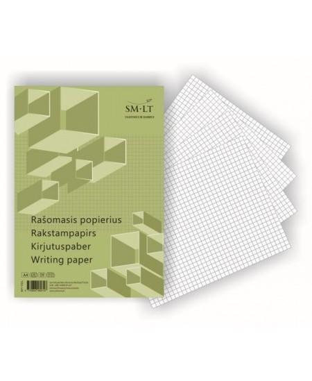 Rašomasis popierius SM-LT, A4, langeliais, 100 lapų