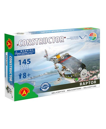 "Konstruktorius RAPTOR \""Sraigtasparnis\"""