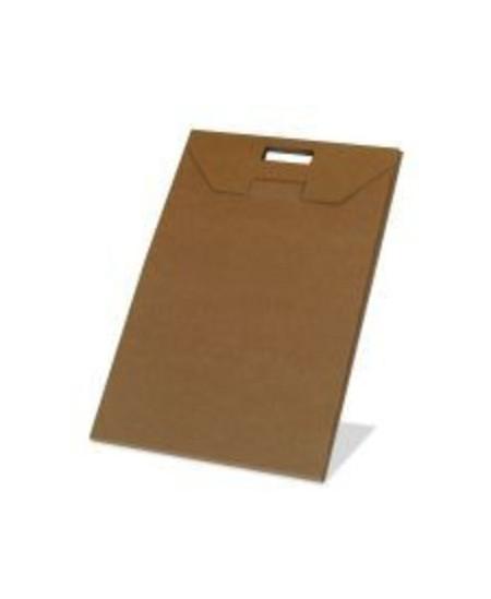 Gofruoto kartono dėžutės-aplankai 600x427x11 mm, rudos spalvos, 5 vnt.