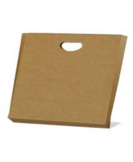 Gofruoto kartono dėžutės-aplankai 317x230x40 mm, rudos spalvos, 5 vnt.