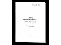 Asmens medicininė knygelė, A6, vertikali, 12 lapų