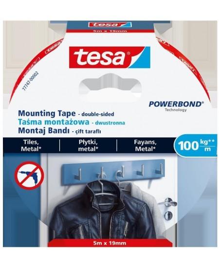 Dvipusė tvirtinimo juosta TESA Powerbond Ultra Strong, 19 mm x 5 m