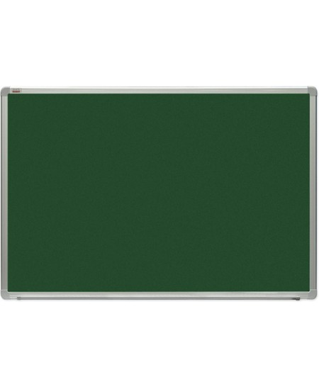 Kreidinė magnetinė lenta 2x3, 120x300 cm, aliuminio rėmas, žalia