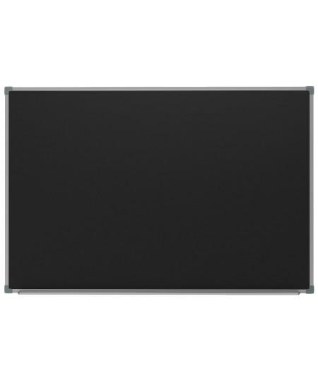 Kreidinė magnetinė lenta 2x3, 100x200 cm, aliuminio rėmas, juoda