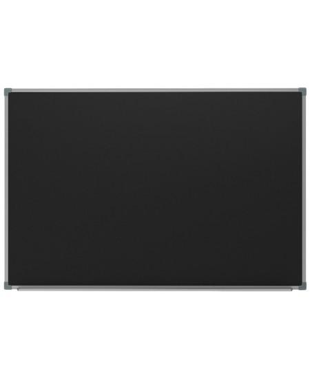 Kreidinė magnetinė lenta 2x3, 120x300 cm, aliuminio rėmas, juoda