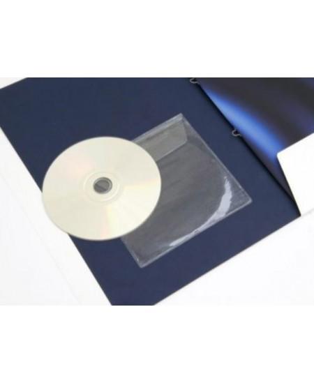 Įmautės CD/DVD diskui, savaime prilimpančios, 5 vnt.
