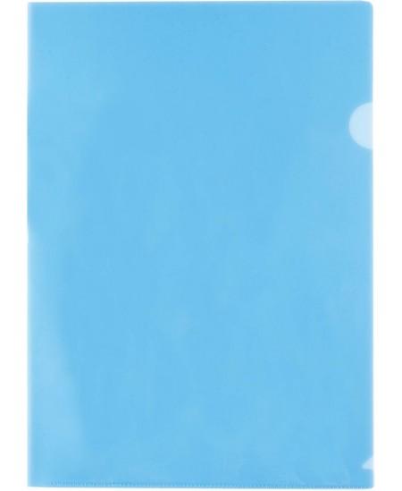 Dėklas L formos CENTRUM, 160 µm, A4, mėlynas