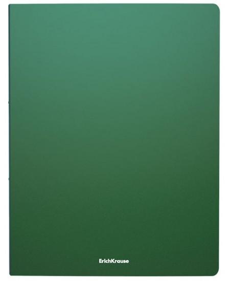 Žiedinis segtuvas ERICH KRAUSE, 2 žiedų, A4, 24 mm, žalias