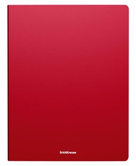 Žiedinis segtuvas ERICH KRAUSE, 2 žiedų, A4, 24 mm, raudonas
