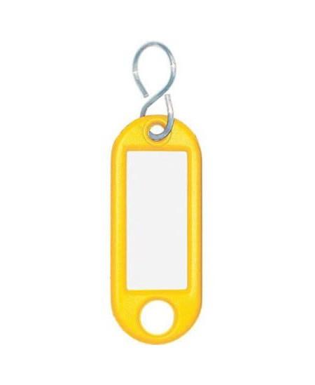 Plastikinis pakabukas raktams su žiedeliu, 1 vnt.