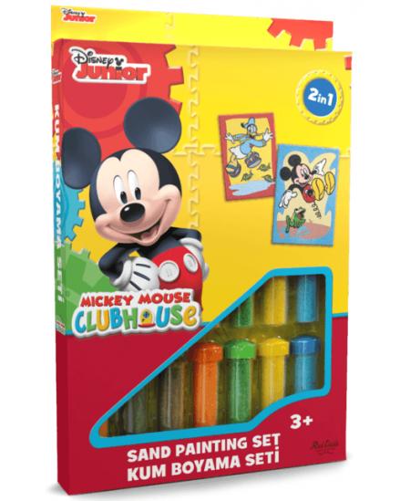 """Piešimo smėliu rinkinys \""""Mikis ir Donaldas\"""""""