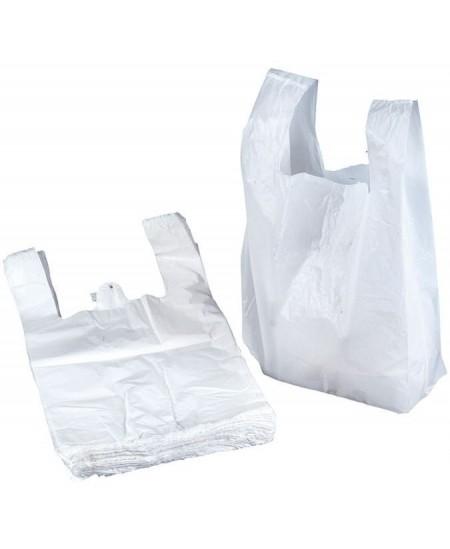 Pirkinių maišeliai su rankenomis, 30/18 x 55 cm