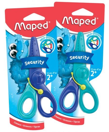 Žirklės vaikams MAPED, lengvai kerpa, 12 cm