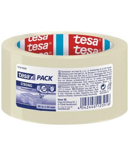 Pakavimo juosta TESA PACK Strong, 50 mm x 66 m