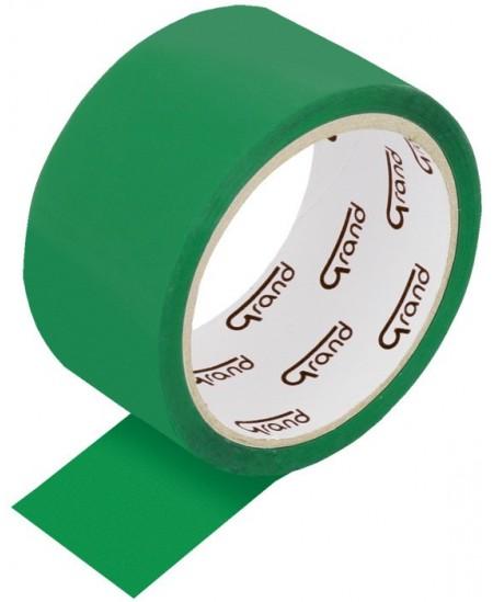 Pakavimo juosta GRAND, 48 mm × 50 m, žalia, 1 vnt.