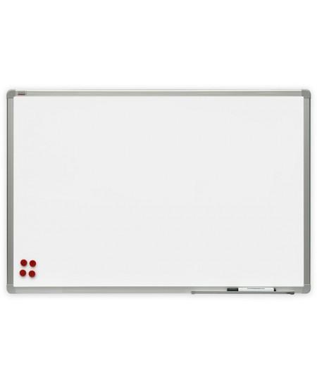 Balta magnetinė keramikinė lenta 2X3, 90x180 cm, aliuminio rėmas