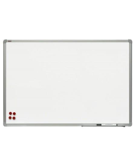 Balta magnetinė keramikinė lenta 2x3, 100x200 cm, aliuminio rėmas