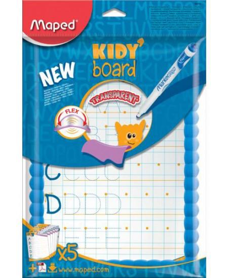 Permatoma lenta MAPED Kidy Board, su priedais