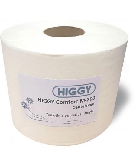 Tualetinis popierius HIGGY Comfort M-200 Centerfeed, 1 ritinys