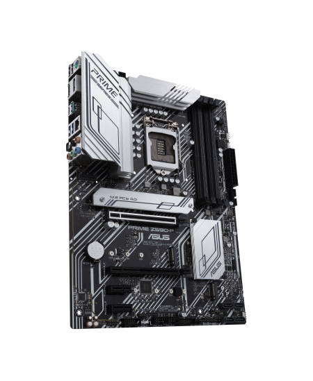 Asus PRIME Z590-P Memory slots 4, Supported hard disk drive interfaces M.2, SATA, Number of SATA connectors 4, Chipset Intel Z,