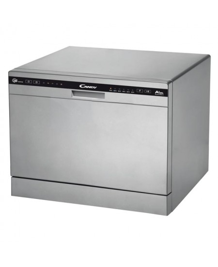 Candy Dishwasher CDCP 6S Table, Width 55 cm, Number of place settings 6, Number of programs 6, A+, Silver
