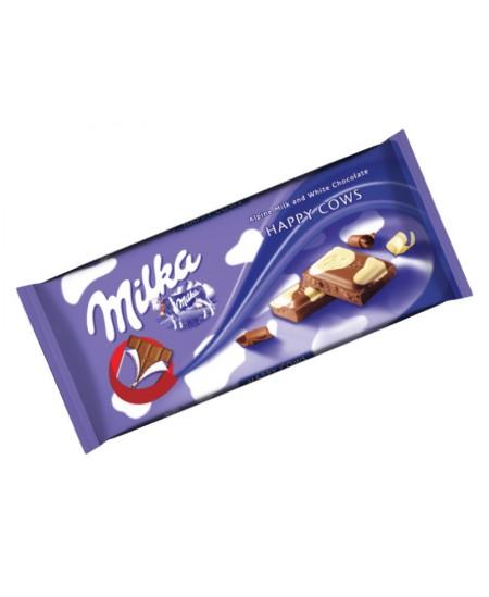 Pieniškas šokoladas MILKA HAPPY COW, 100 g