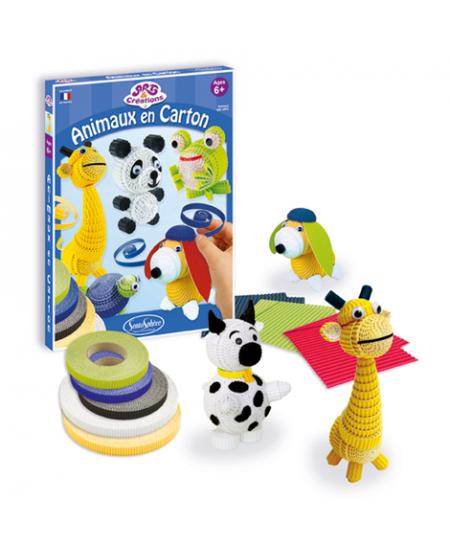 """Kūrybinis žaislas """"Gyvūnėliai"""", popierinis"""