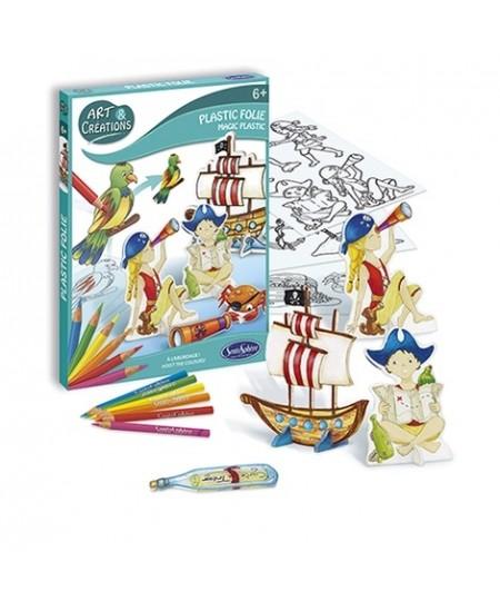 Meno ir kūrybos rinkinys - Magiškieji Piratai
