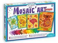 """Kūrybinis mozaikų kūrimo rinkinys """"Aborigenų menas"""""""