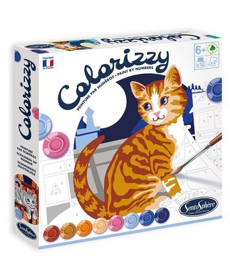"""Kūrybinis spalvinimo rinkinys """"Colorizzy Katės"""""""