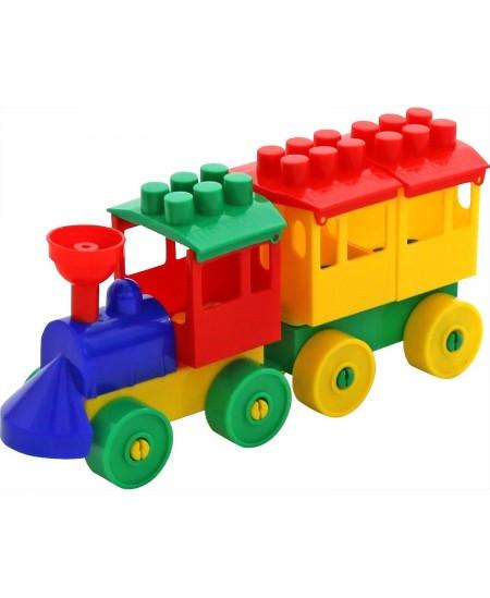 Konstruktorius garvežys su vienu vagonu