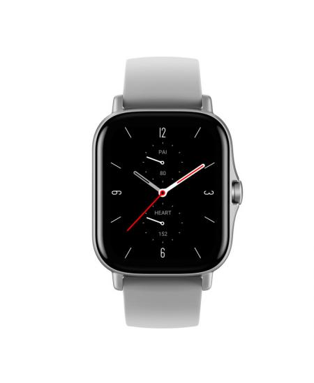 Amazfit GTS 2 Smart watch, GPS (satellite), AMOLED Display, Touchscreen, Heart rate monitor, Activity monitoring 24/7, Waterproo