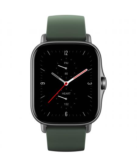 Amazfit GTS 2e Smart watch, GPS (satellite), AMOLED Display, Touchscreen, Heart rate monitor, Activity monitoring 24/7, Waterpro