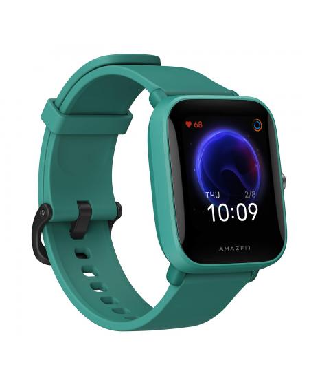 Amazfit Bip U Smart watch, GPS (satellite), AMOLED Display, Touchscreen, Heart rate monitor, Activity monitoring 24/7, Waterproo