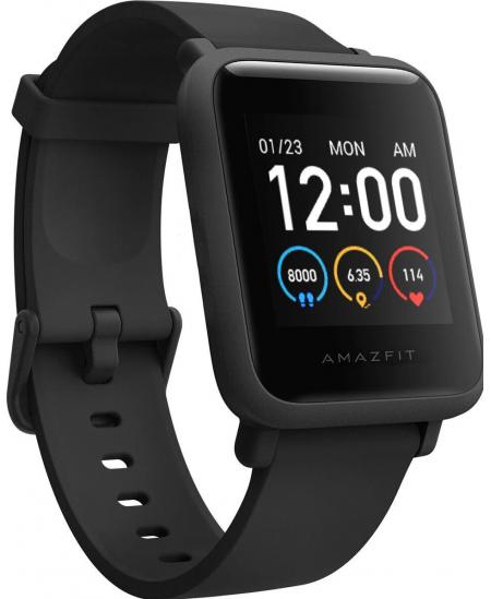 Amazfit Bip S Lite  Smart watch, GPS (satellite), AMOLED Display, Touchscreen, Heart rate monitor, Activity monitoring 24/7, Wat